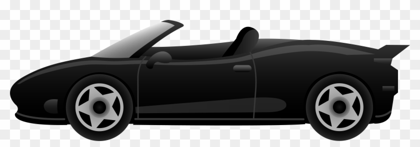 Vehicle Clipart Transparent Car - Cartoon Car Side View #12699