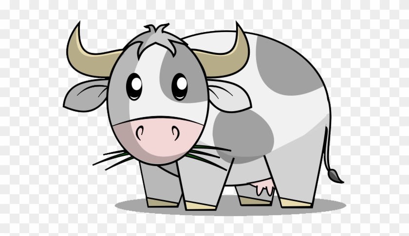 Baby Cow Clipart - Cute Ox Cartoon #12722
