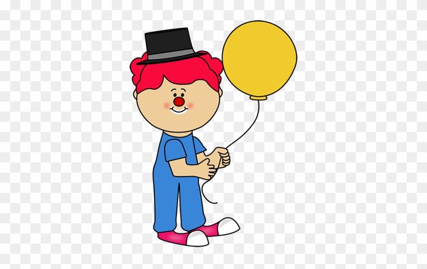 Girl Circus Clown Clip Art - Clown #12718