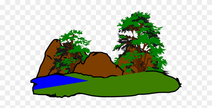 Green Forest Clip Art - Forest Clipart Png #12757