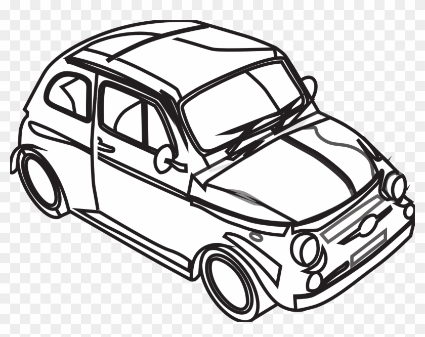 Black And White Car Pictures Free Download Clip Art - Car Black And White Png #12762