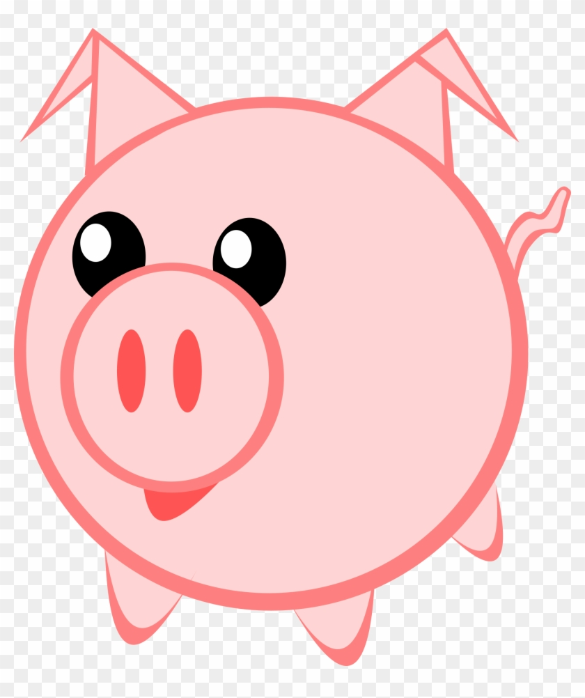 Pig Clip Art - Pig Clipart Cute #12783