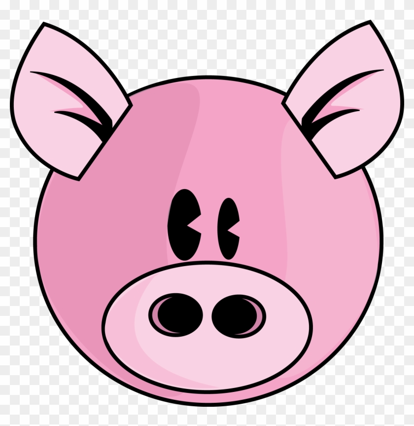 Clipart Pig Face Picture Clipart Free Clip Art Images - Pink Pig #12801