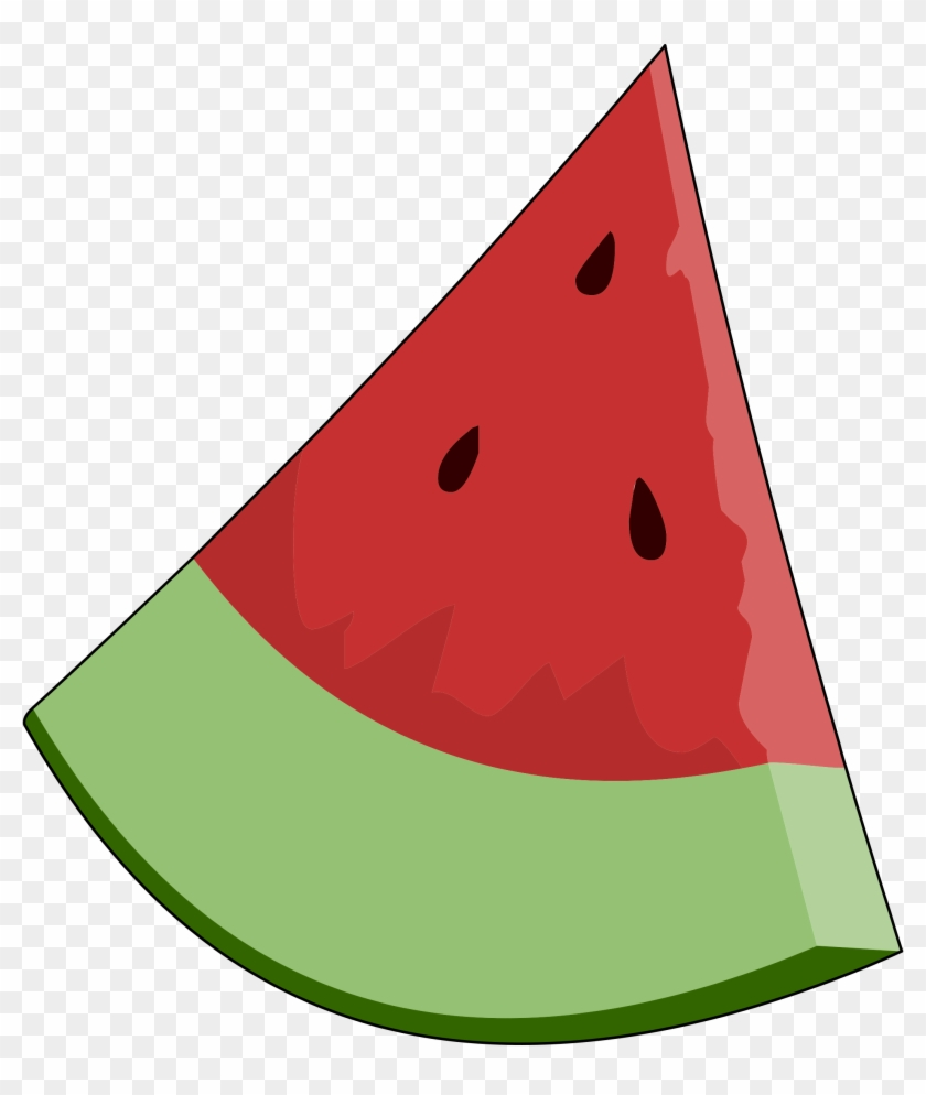 Clip Art Of A Watermelon Clipart Cliparts For You Clipartcow - Food Clipart With Transparent Background #12815