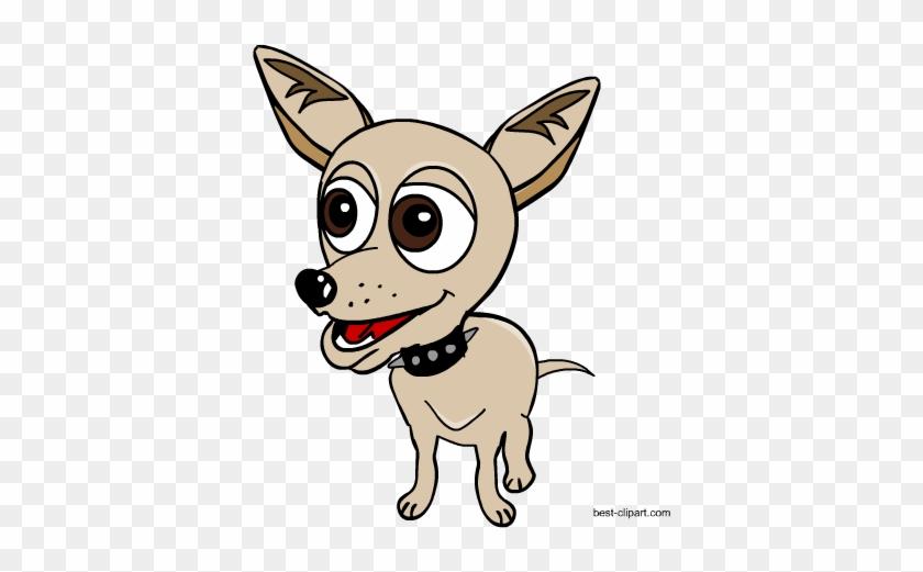 Free Dog Clip Art - Chihuahua #12828