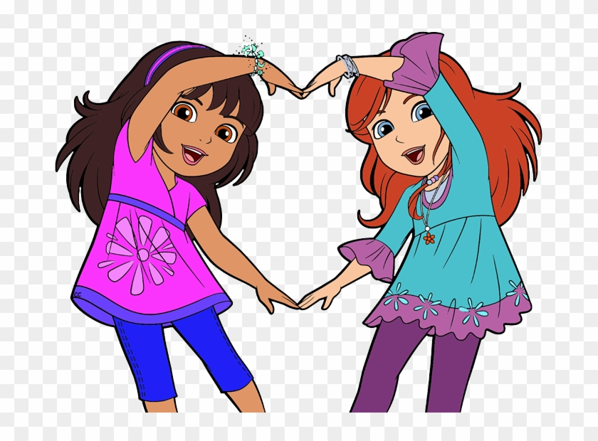 Dora And Friends Clipart Images Cartoon Clip Art - Dora And Friends Clipart #12866