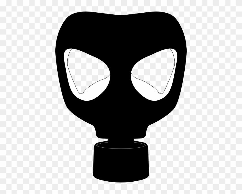 Clip Art Circus Clown Mask - Gas Mask Clip Art #12869