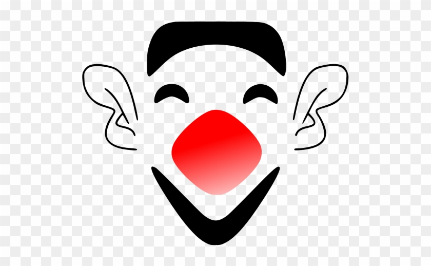 Laughing Clown Face Png Images - Cartoon Clown Face Png #12873