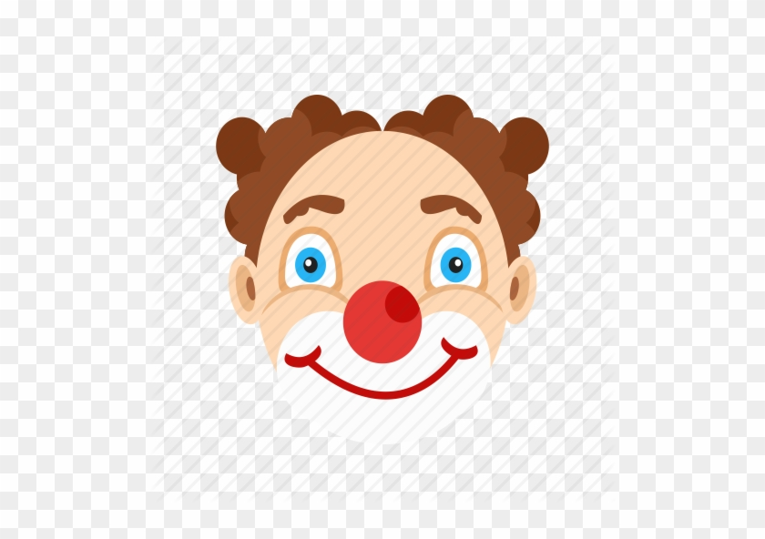 Cartoon Clown Face - Clown #12888