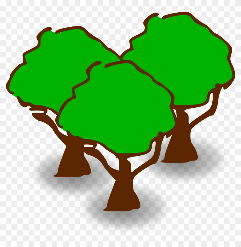 Clipart Heafy Forest - Forest Clipart #12896