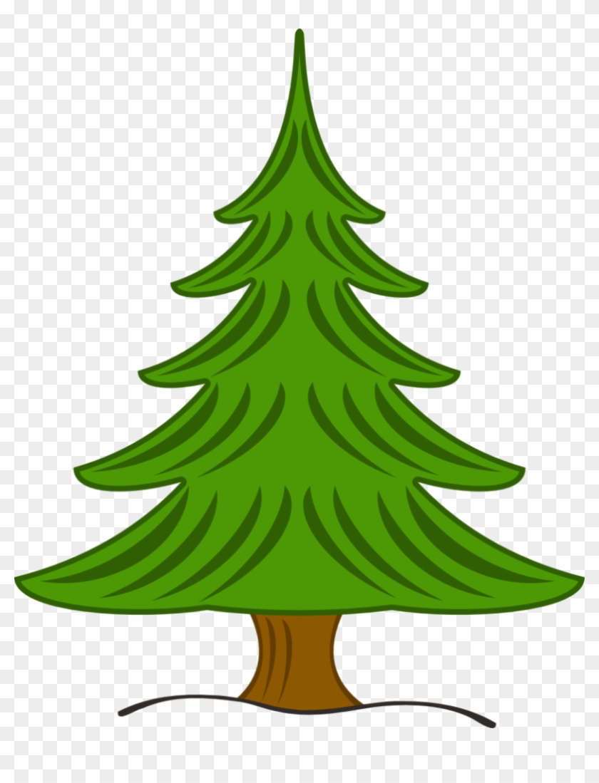 Tree, Forest, Nature, Landscape, Park - Tannenbaum Clipart #12909
