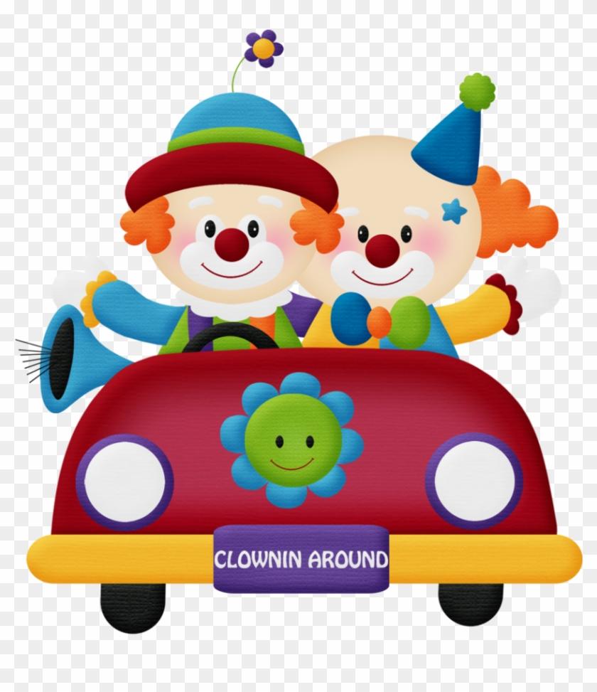Aw Circus Clown Car 4 - Circus Clown Clipart Png #12925