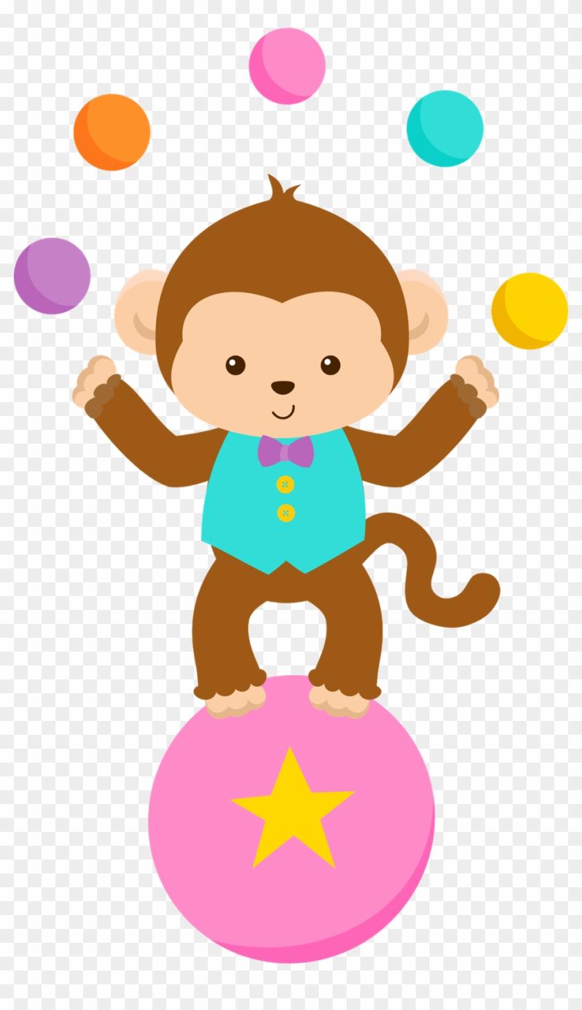 Dibujos Infantiles De Circo Para Imprimir - Animales De Circo Animados Png #12940
