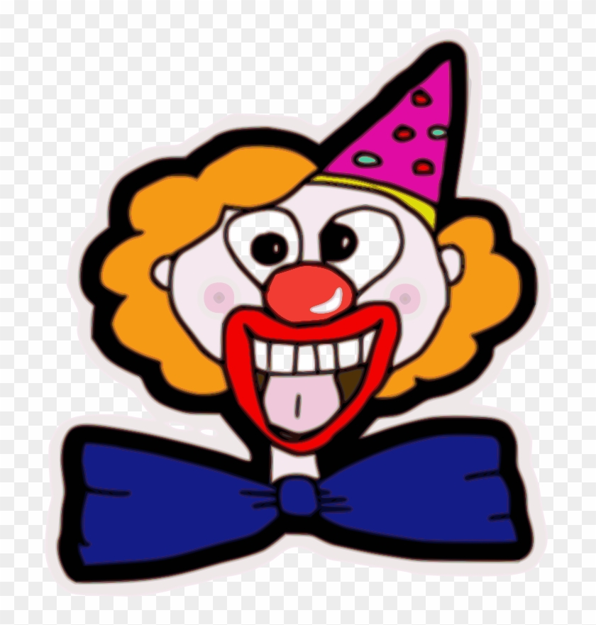 Clipart - Clown Face - Clown Faces #12959