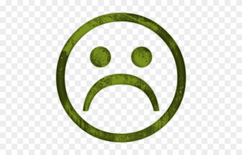 Sadness Clipart Sick Face - Happy Neutral Sad Face #12962