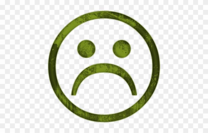 Sadness Clipart Sick Face - Happy Neutral Sad Face #12962