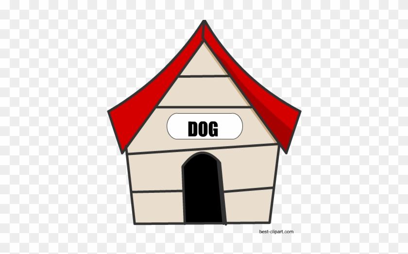 Free Dog House Clip Art Image - House #12998