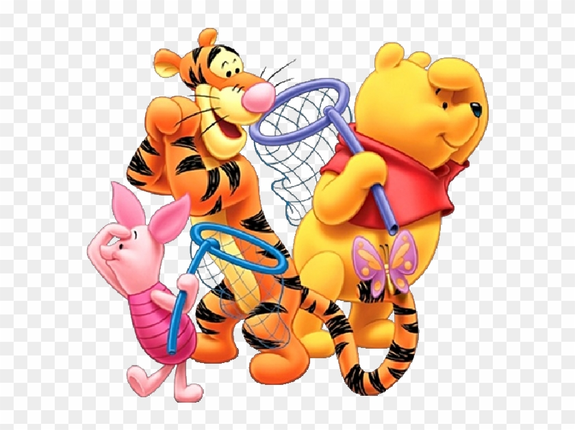 Winnie The Pooh And Friends Clipart - Winnie Pooh And Friends #13014