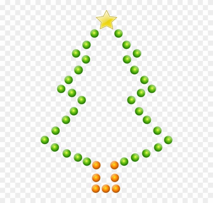 Christmas Tree Lights Christmas Glossy Tree - Christmas Tree #13030
