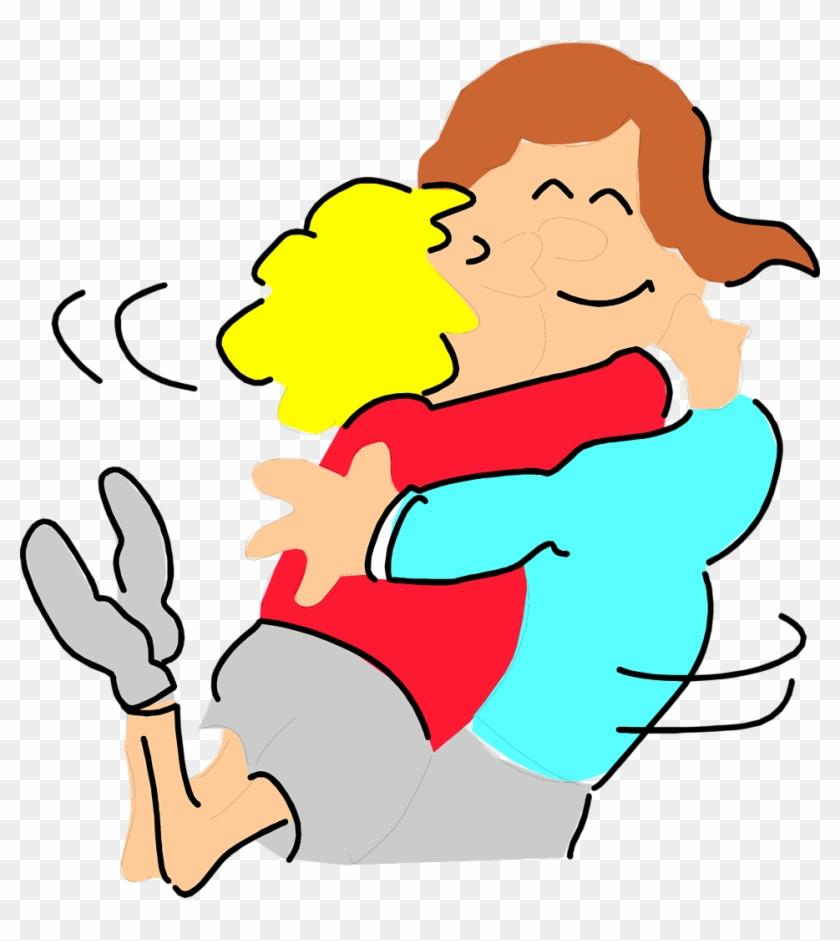 Two Friends Clipart Kids Two Friends Hugging Giicx1 - Hug Clip Art #13041