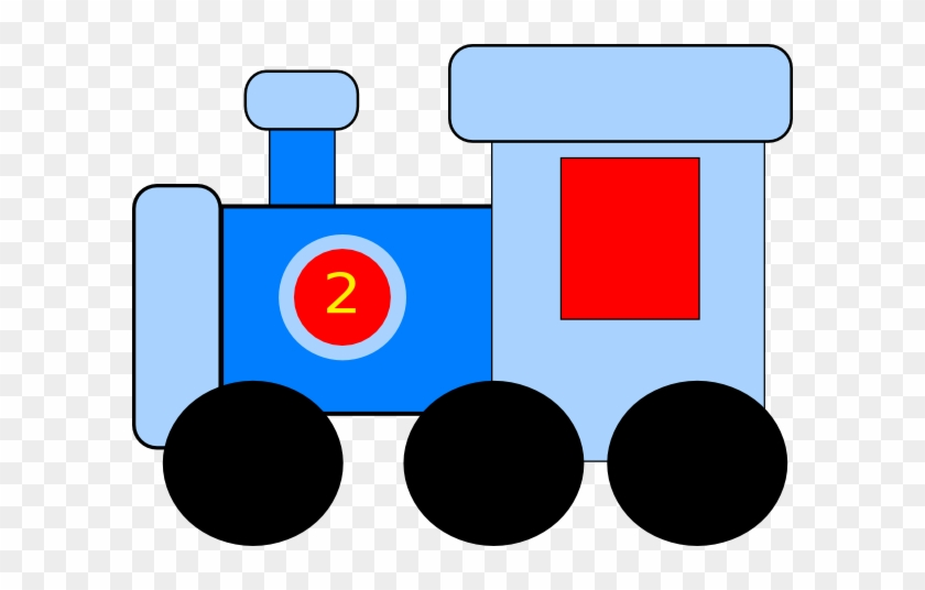 Train Thomas The Tank Engine And Friends Clip Art Images - Blue Red Train Cartoon #13057