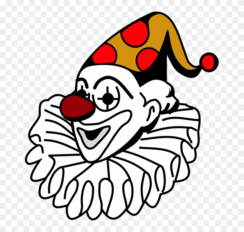 Clown Clipart Funny Person - Joker In Playing Cards #13079