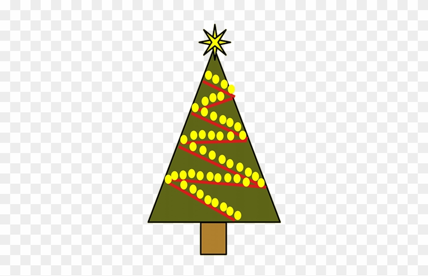 Christmas Tree With Baubles, Two Christmas Trees, Gingerbread - Christmas Day #13088