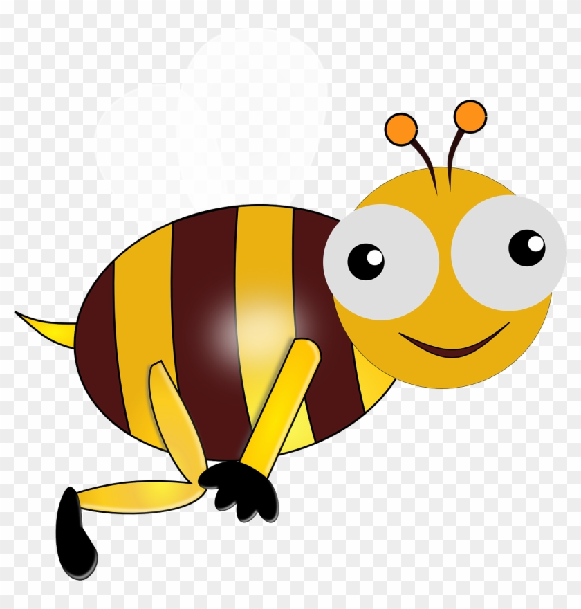 Bee With Funny Eyes - Bumble Bee Animation #13089
