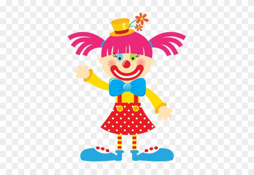 Album - Girl Clown Face Clipart #13100