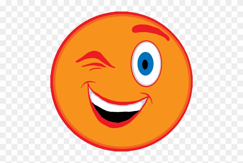 Pin Animated Smiley Face Clip Art - Cartoon Picture Of Wink #13109