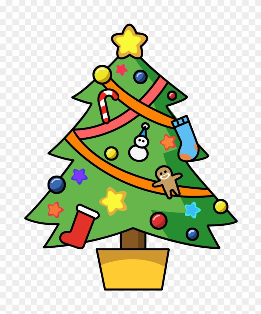 Christmas ~ Christmas Lights Clipart Border Animated - Christmas Tree Clip Art #13139