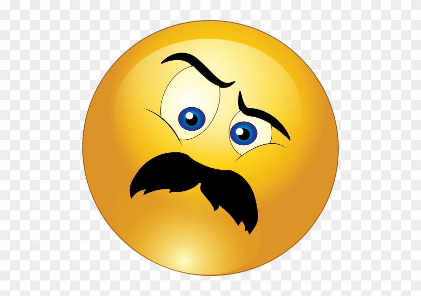 Gallery For Angry Smiley Face Clip Art - Emoticons With Moustache #13177