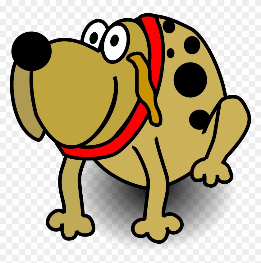 Fat Dog Cartoon Png #13206