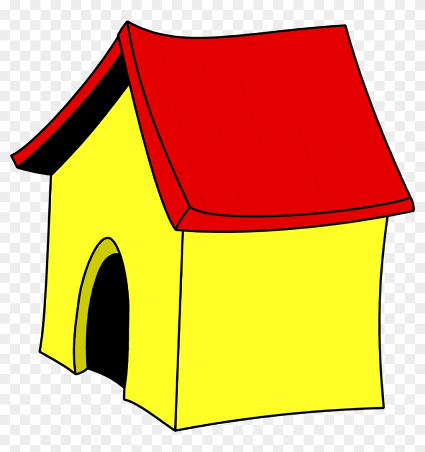 Image Of Dog House Clipart Cartoon Home Alone Clip - Dog House Clipart No Background #13216