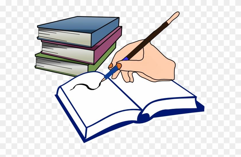English Class Language Arts Teacher Clipart Free Images - Open Book Clip Art #13220