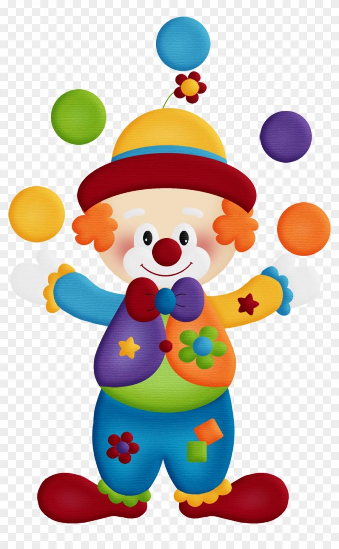 Aw Circus Clown - Payasos De Circo Png #13314