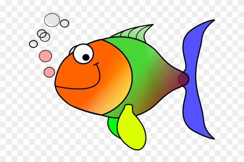 Comic Fish Clip Art At - Fish Clipart #13339