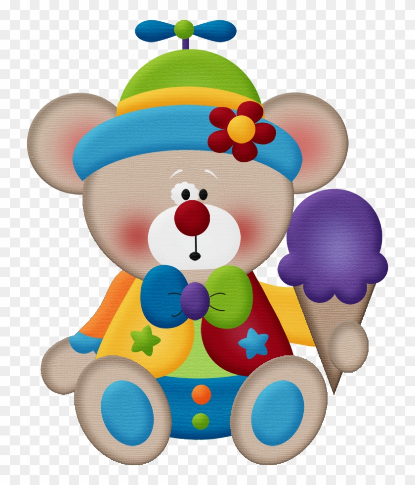 Aw Circus Bear 10 - Minus Birthday Kids Clipart #13349