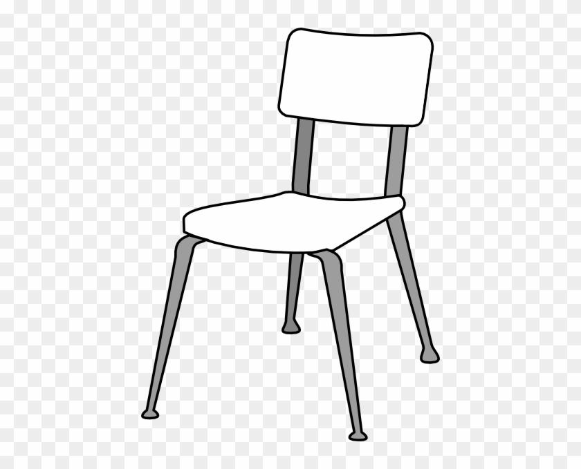White Classroom Chair Clip Ar - Chairs Clipart #13366