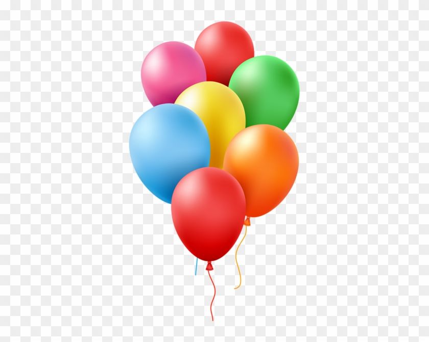Balloons Transparent Clip Art Image - Balloons Transparent #13373