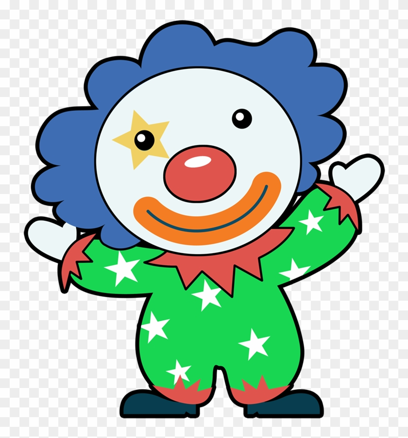 Clown Clip Art - Music Download #13383