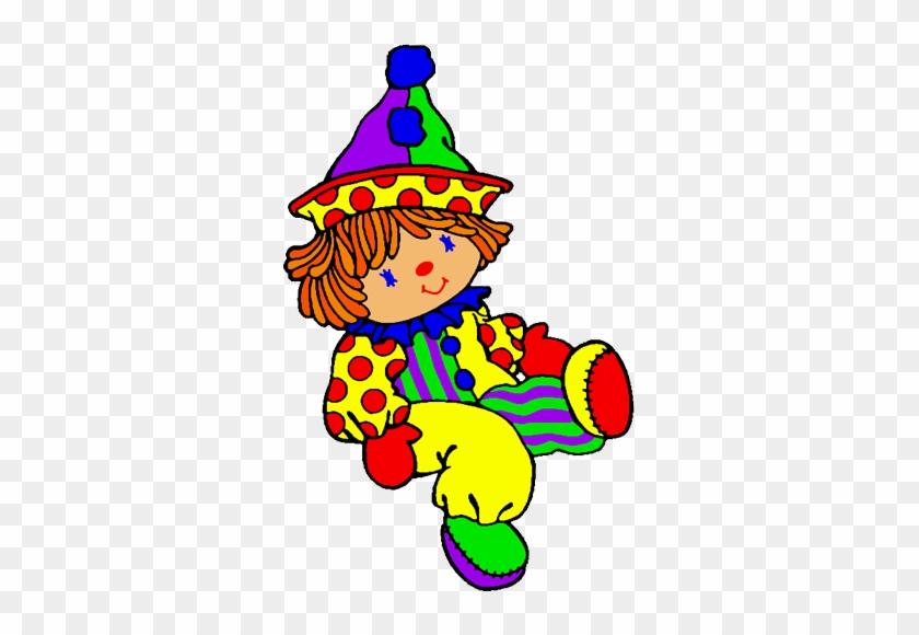 Clown Clip Art - Clown Doll Clip Art #13386