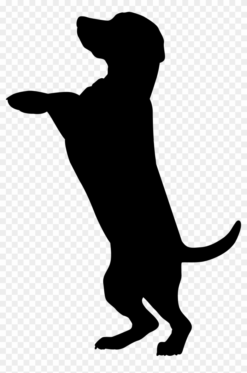 Dog Silhouette Png Clip Art Imageu200b Gallery Yopriceville - Dog Silhouette Png #13418
