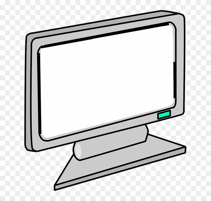 Clipart Of Computer Monitor #13407
