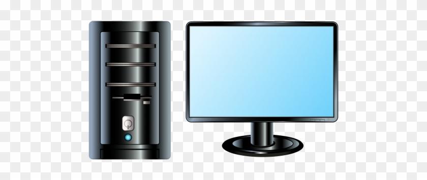 Desktop Pc Png Clip Art - Pc Clipart #13410