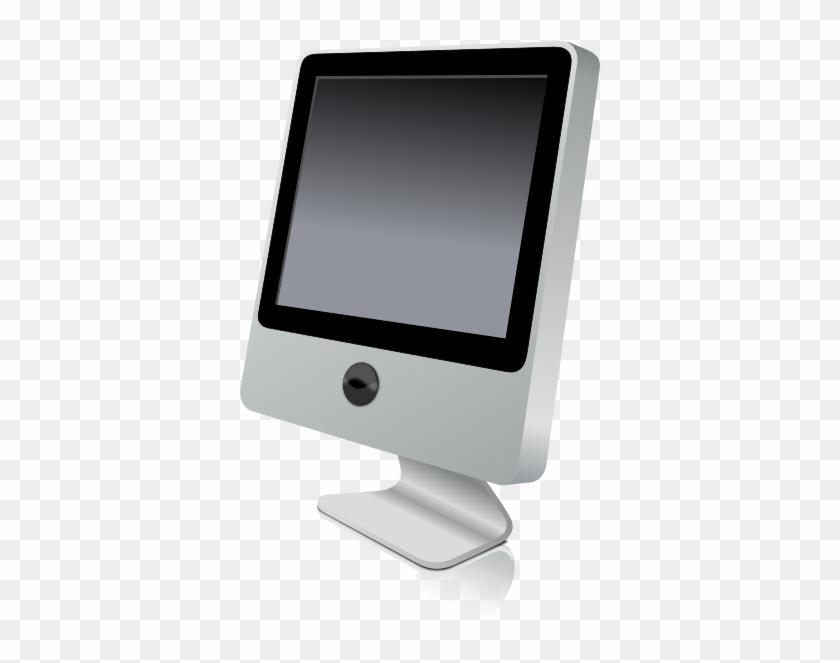 Computer Monitor Clip Art - Mac Pc Clipart #13429