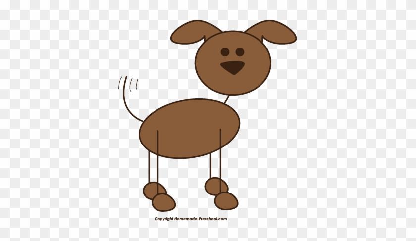 Stick Dog Clipart - Dog Clip Art Stick Figure #13446
