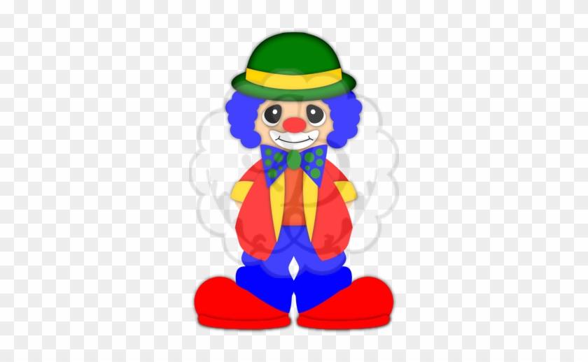 Clown Clip Art - Clown #13482