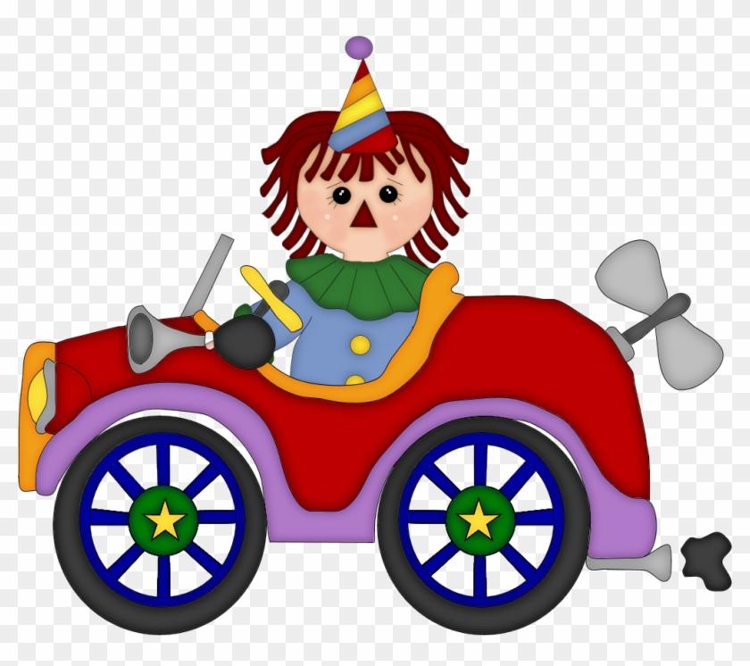 Clipart Clown Car Circus - Clown Car Png #13494