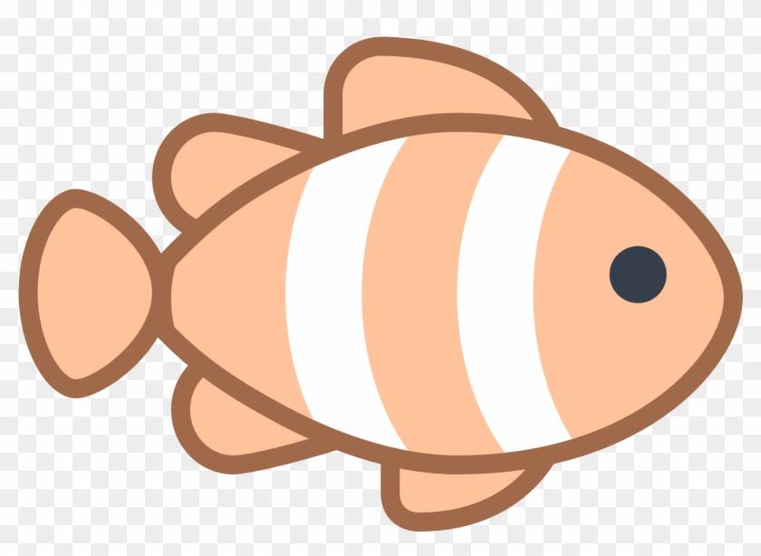Clownfish Clipart Fish Fin - Clownfish Logo #13508